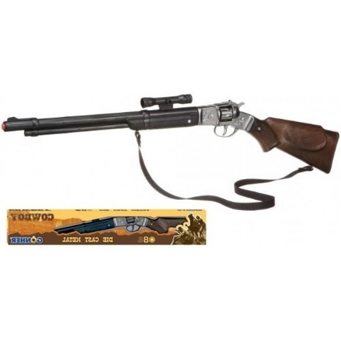 Firing Mechanisms For Guns : Gonher shot western style plastic cap gun rifle with
